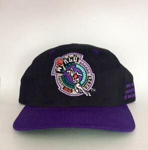 Vintage 1994 World Championship of Basketball Snapback Hat
