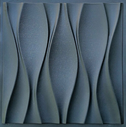 KUWIN - Quality ABS Plastic Press Mold Art 3d Decorative Panels Wall Stone
