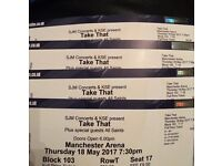 4 Take That Tickets For Sale