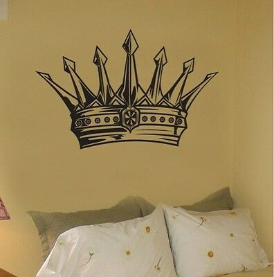 Vinyl Wall Decal Sticker Kings Crown Kids Room 21x31