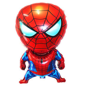 SPIDERMAN Superhero Marvel Avenger LARGE Foil Balloon Helium Party Birthday 28