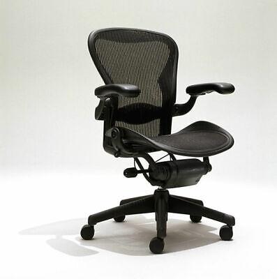 Herman Miller Aeron C Size Office Chair - Graphite
