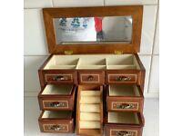 Beautiful Wooded Jewellery Box