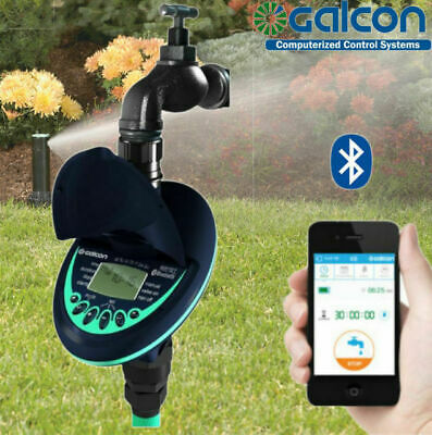Galcon Bluetooth 9V Battery Powered Tap Timer. Range 3-30m. Free App.