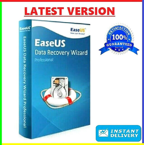 EaseUS Data Recovery Wizard v13.5 🔥 PRE-ACTIVATED Lifetime License ✅