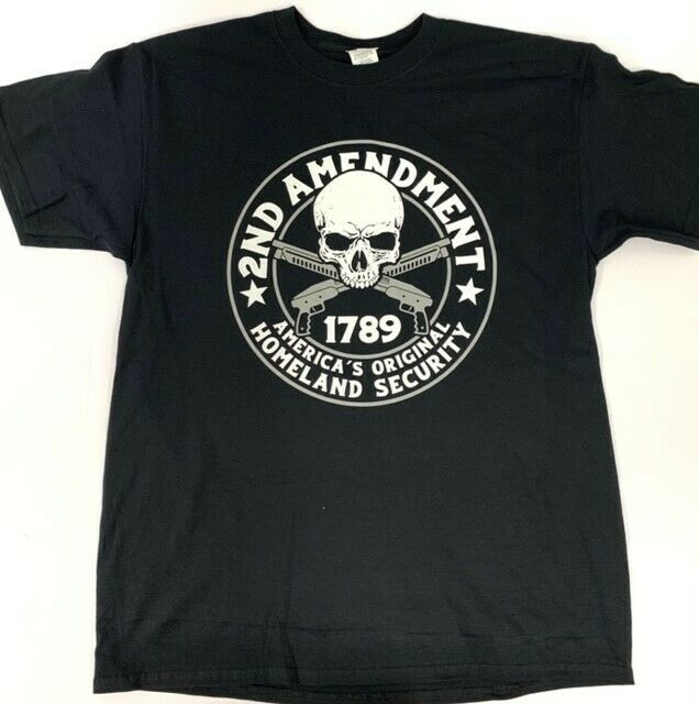 2nd Amendment T-Shirt Clothing, Shoes & Accessories