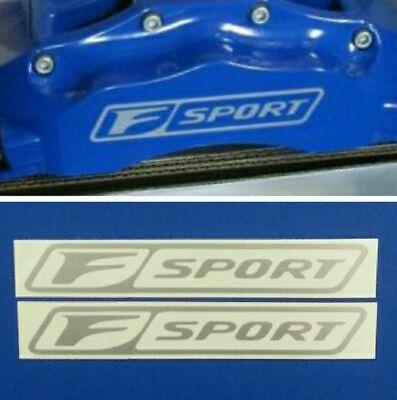 F SPORT Lexus Brake Caliper Decals Stickers Set of 4 - Hi Temp -6 Diff Colors](Sports Stickers)