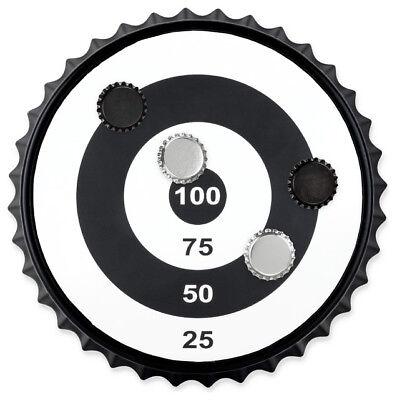 Magnetic Bullseye Bottlecap Dart Board (Magnetic Darts)