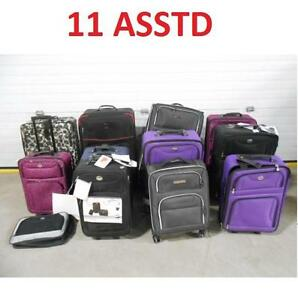 11 ASSTD LUGGAGE BAG LOT LOT - SEE COMMENTS - ASSORTED - TRAVEL - TRIP - SUITCASE 110153565