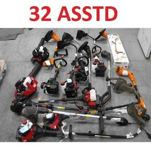 32 ASSTD POWER TOOLS LOT - 119894518 - EDGER TRIMMER BLOWER LAWN CARE GRASS MAINTENANCE SEE COMMENTS