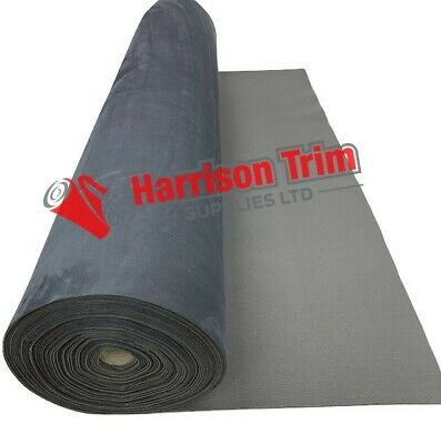 5m Suede Flex(stretch) Van lining backed faux suede seating vw camper Charcoal