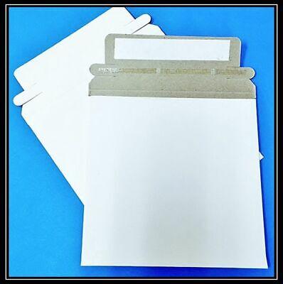 15000 Rigid 5 X 5 Cd Dvd Self Seal Photo Ship Flat Cardboard Envelope Mailer