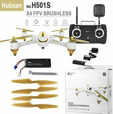 Hubsan H501S FPV RC Quadcopter GPS 1080P HD camera 5.8G Brushless RTF Drone USA