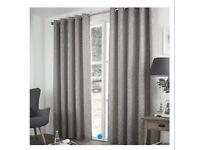 Curtains & Poles x4