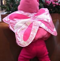 Pink Halloween Butterfly Costume with Natural Steps Shoes