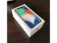 Apple IPhone X, 64gb, space grey, new.