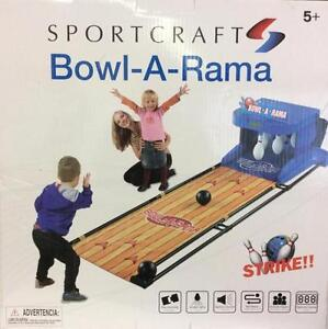 Arcade style bowling game