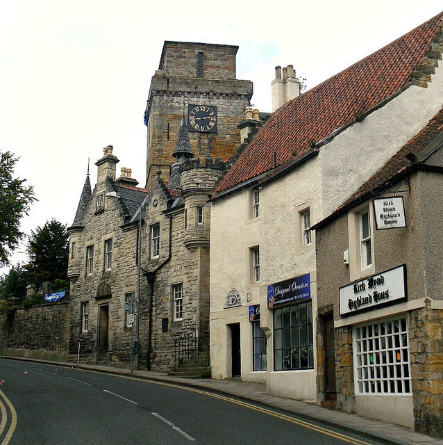 Lovely Small Shop/office For Rent Off High Street In Kirk