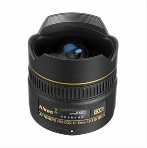 Nikon NIKKOR fisheye 10.5mm f/2.8 G Lens Mint condition