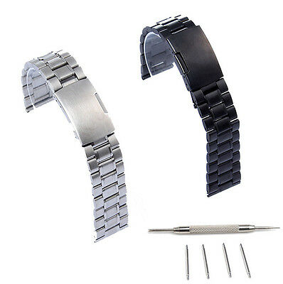 22Mm Stainless Steel Watch Band For Fossil Q Founder 2 0 Marshal Wander