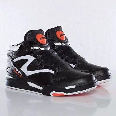 Reebok Pump Omni Lite Dee Brown Retro Black Orange White Size 8 Style J15298