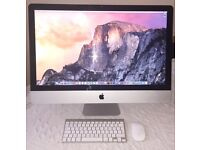 "Apple iMac 27"" Core i5, 1TB HD, 16GB RAM, Photoshop, Final Cut, Logic Pro"