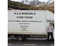 Van and Man services Ayrshire