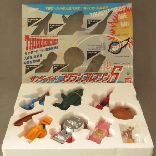 [MINT] Thunderbirds Scramble Machine 6 Mechanics 1992 Bandai TB1 TB2 TB3 TB4 TB5