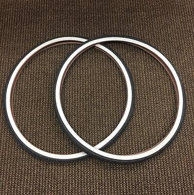 BICYCLE TIRES 700 X 38C - 28 X 1 5/8 X 1 1/2 WHITE WALLS