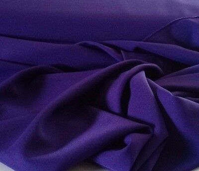 "Plum Gabardine Tropical Polyester 60 to 62"" wide for sewing. Free swatches.  for sale  Miami"