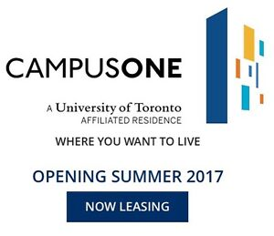 Register for CampusOne | Urban Student Living Downtown T.O.