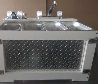 Portable Sink Concession Sink 3 Compartment Sink 4 Compartment Sinktable Top