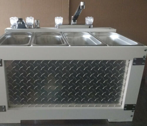 Portable Sink Concession Sink 3 Compartment Sink, 4 Compartment Sink,Table Top
