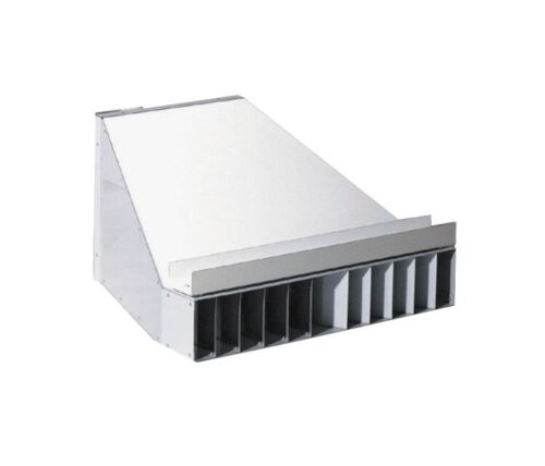 """LB White 23189 End Diffuser, Fits on end of 18"""" duct, Premier 350"""
