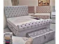 Deluxe Sleigh Bed Frames on Sale with Delivery available 11