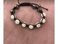 Shamballa crystal bead bracelet