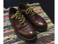 Dr Martens 1461 Cherry Red/Oxblood Shoes Size 5