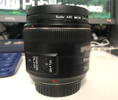Canon EF 35mm f/2 EF Camera Lens 35.2 35mm 2.0 No Box (Non-USM)