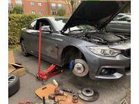 Mobile mechanics services battery brakes recovery adblue nox sensor repairs vehicle car bmw mercedes