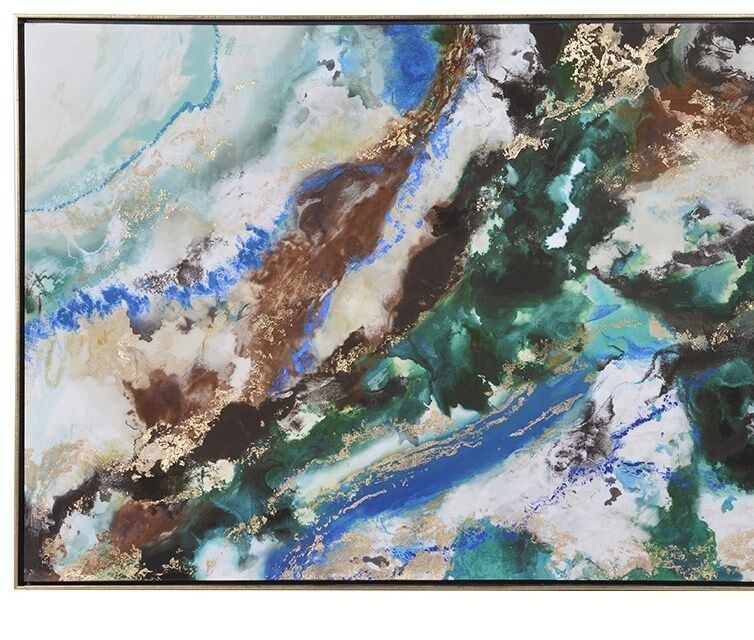 Stunning Rocks Abstract Painting on Canvas Large Wall Art New 930x1230mm