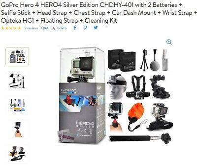 GoPro Warrior 4 Digital Camcorder - Silver