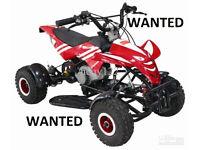 mini quad wanted