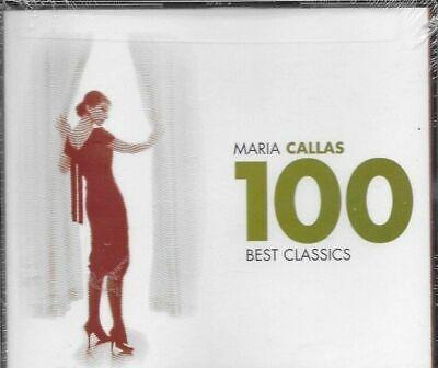 Maria Callas 100 Best Classics (CD, Jan-2007, 6 Discs, Warner Classics