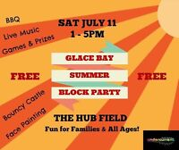 Glace Bay summer block party!