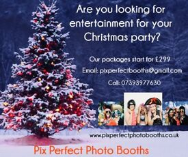 Pix Perfect Photo Booths luxury sit down booth