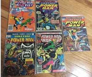 Luke Cage Power Man #19, 22, 26, 73, Pwr Man & Iron Fist 85