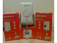 New Redring Instant water heaters.