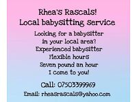 Rhea's Rascals Babysitting service!