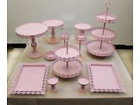 New design luxury wedding cake stand