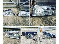 Skoda Fabia vRS mk1 Genuine Projector Headlights